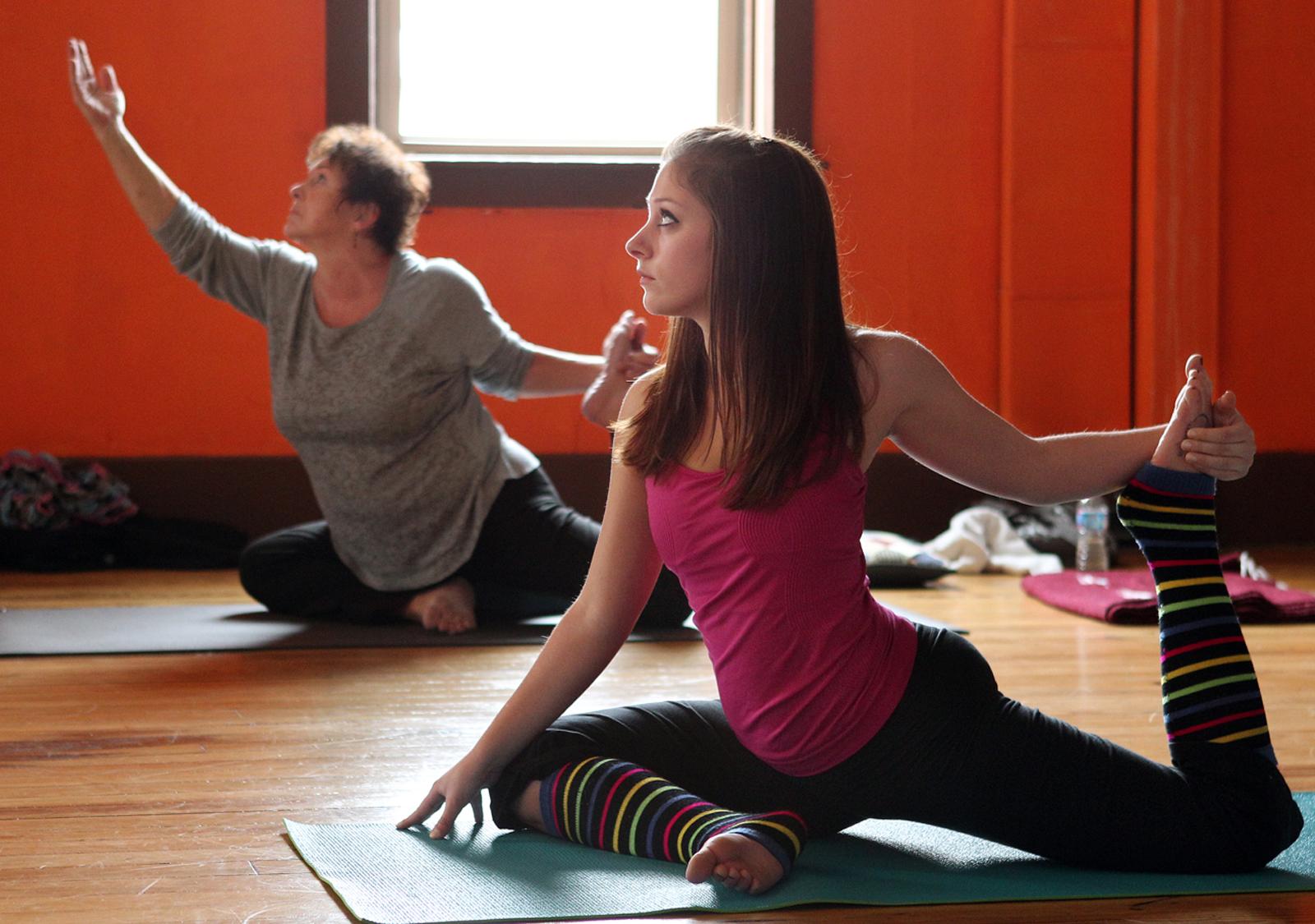 yoga wod